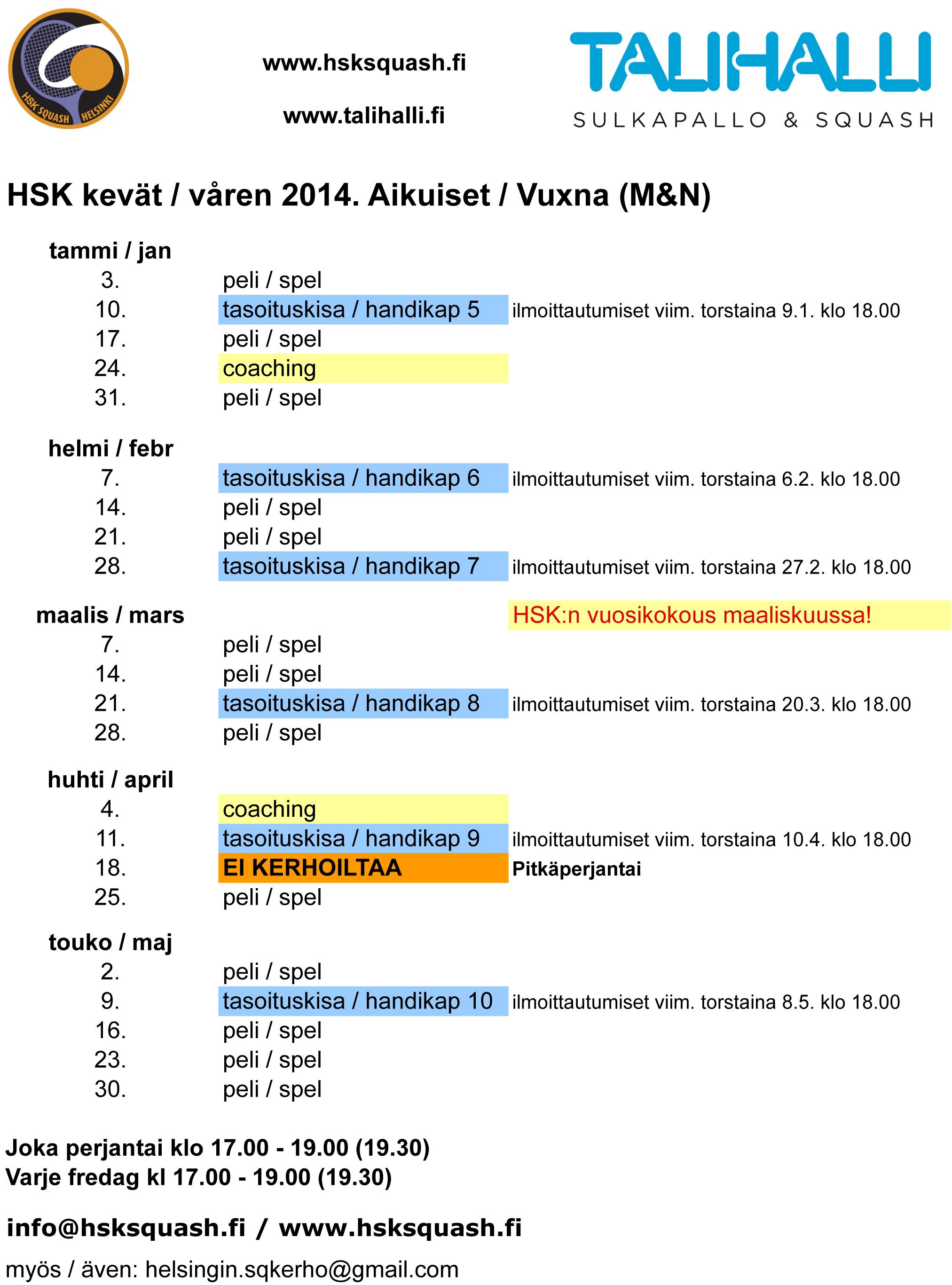 HSK kevat 2014 v1