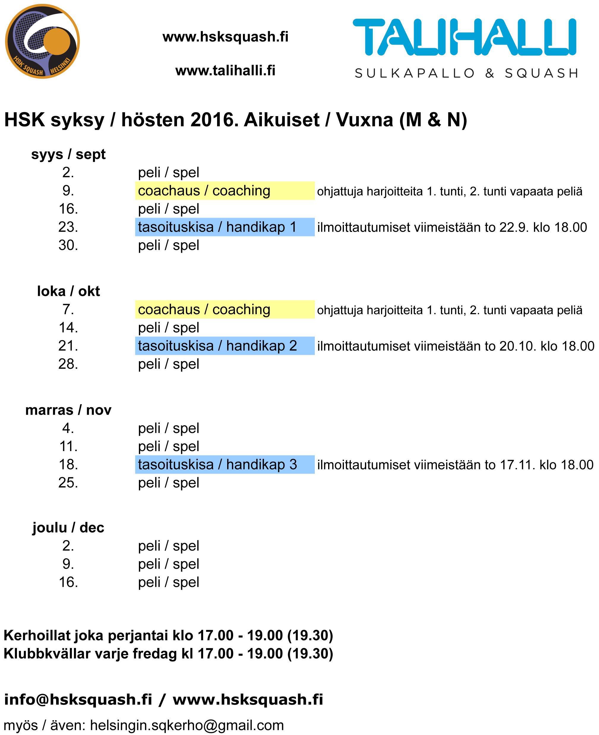 HSK syksy 2016 v1